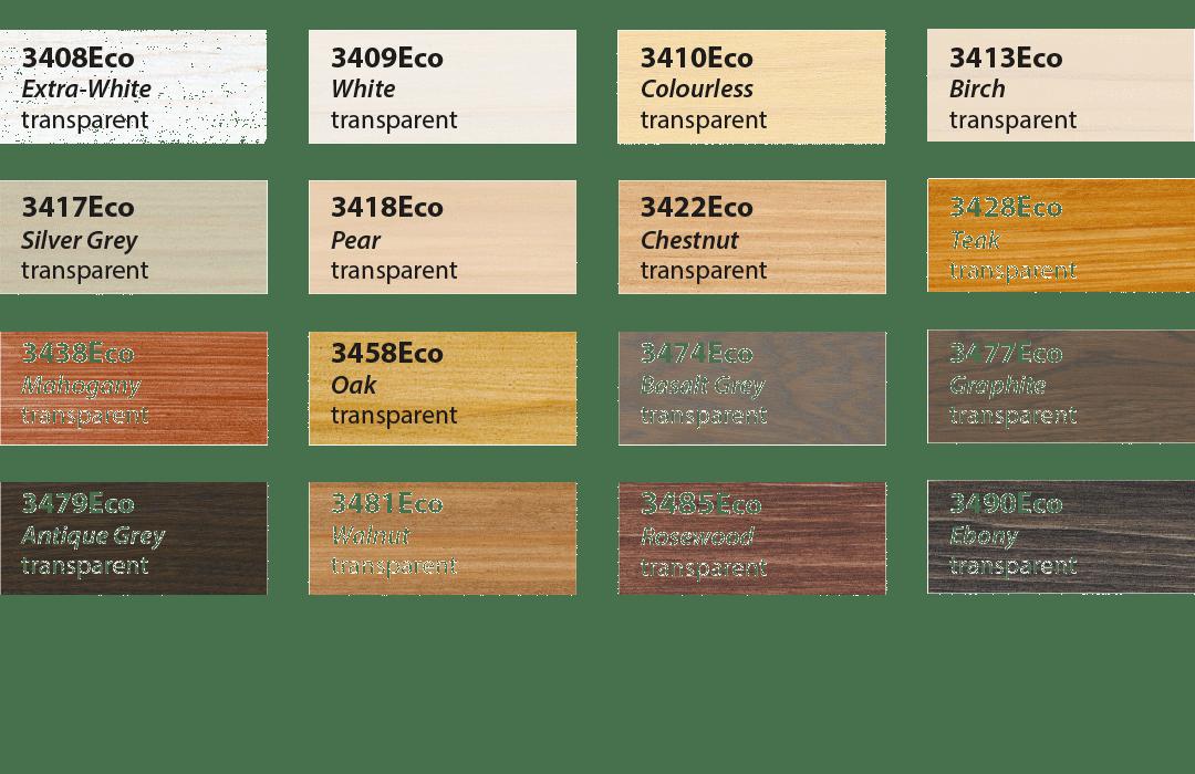 Ground Coat Colors