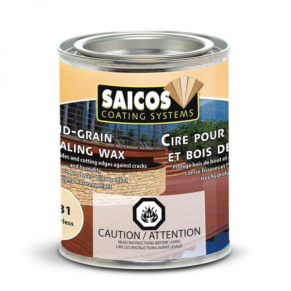 SAICOS End Grain Sealing Wax